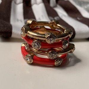 Henri Bendel jewelry | stack ring set NWOT